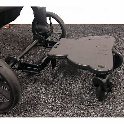 New 4Baby Easy Rider Plus Childs Universal Pram Buggy Stroller Board Black