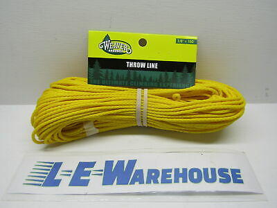 150' Of Yellow Throw Line Only - Weaver