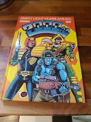 2000AD Annual 1987 Simply Light Years Ahead. Free postage.