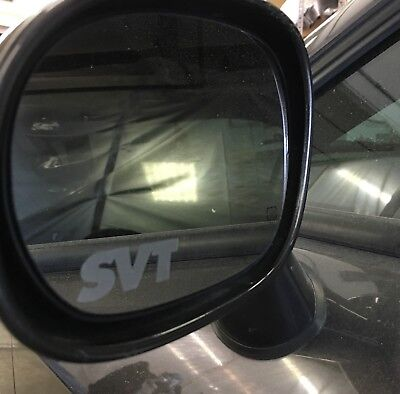 Frosted Look Mirror Glass Decal Stickers Set Of 2 Toyota TRD Etched