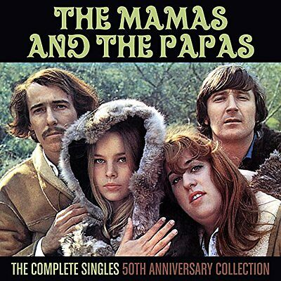 The Mamas and the Papas Complete Singles 50th Anniversary Collection MONO 2CDS