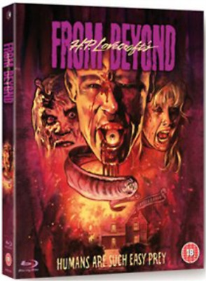 Jeffrey Combs, Barbara Crom...-From Beyond  Blu-ray NUEVO