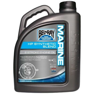 Bel-Ray 2T HP Synthetic Engine Oil 4 L  Part# 301296150185