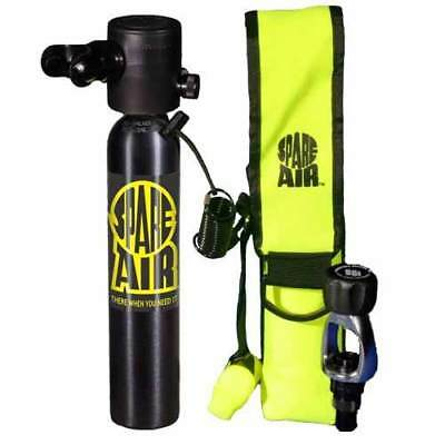 Submersible Systems Spare Air 3.0 CF Kit - Black Scuba Tank