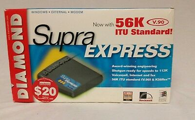 DOWNLOAD DRIVER: DIAMOND SUPRA EXPRESS 56K EXTERNAL MODEM