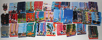 Large Dealer Lot of 425 Disney Gift Cards 2011-2017 Rides, Movies, Characters ++