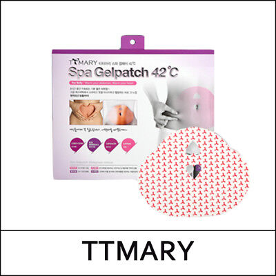 [TTMARY] Spa Gelpatch 42°C Corset Type (5ea) 1 Pack / Thermogenic Diet Patch /S둘