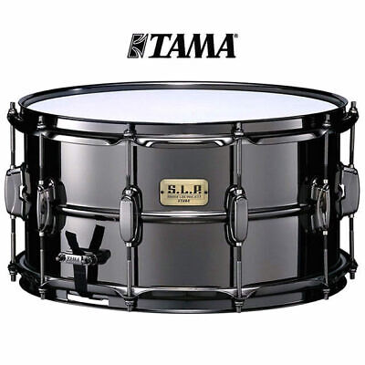 Tama SLP 15x8 Big Black Steel Shell Snare Drum LST158 Limited Edition