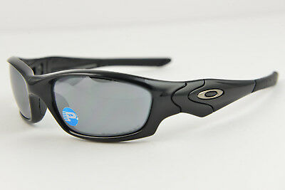 b6f385d5750 OAKLEY STRAIGHT JACKET Polished Black Polarized Black Iridium 12-935 61-18-