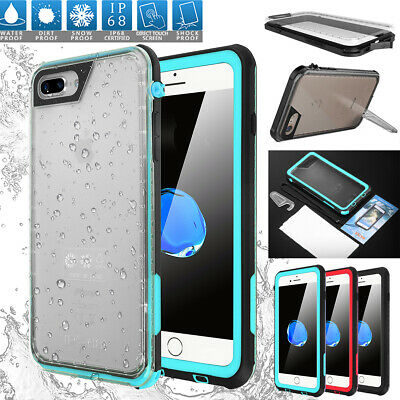 iPhone 8 6s 7 8 Plus Ultra Thin Waterproof Shock Dirt Proof Full Body Cover Case