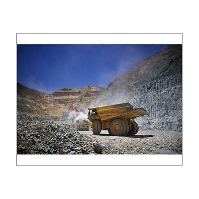 "14627256 10""x8"" (25x20cm) Print Dump truck ready to be loaded wit..."
