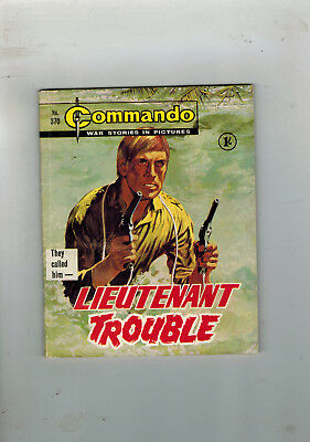 COMMANDO WAR STORIES IN PICTURES LIBRARY No. 370 from 1968 -  comic