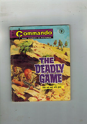 COMMANDO WAR STORIES IN PICTURES LIBRARY No. 369 from 1968 -  comic