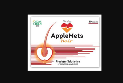 AppleMets Hair 30 Capsule integratore anticaduta