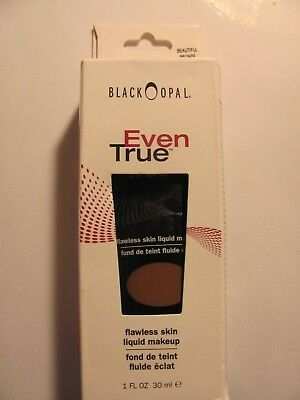 Black Opal Even True Flawless Liquid Foundation Beautiful Bronze 1 FL OZ