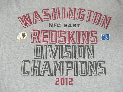Nike - Washington Redskins Football - Xl - Gray T-Shirt- P824