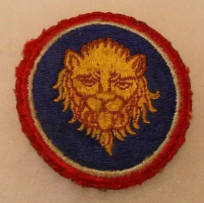 Wwii 106Th Inf Div Variant Brown Highlights To Lion & Smaller Head Off An Ike