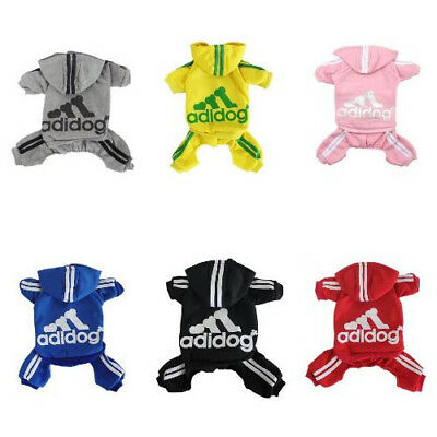 Cute Medium M Red Adidog Hoodies For Male Small Dogs Outfits Apparel