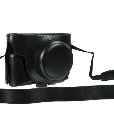 Black AST Ever Ready Strap Camera Case Bag For Nikon Coolpix P7700