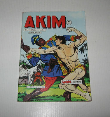 "Akim  N° 621 Tbe Juin 1985 ,editions ""mon Journal"",jimmy Jet,klip & Klop"