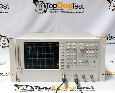 "Hp Agilent Keysight 8753ES-003 011 Network Analyzer 300kHz to 3GHz "" WARRANTY """