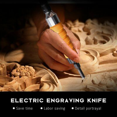 Lilys Gift Electric Woodworking Woodcut Hand Carving Chisel Flexible Shaft 3DAYS
