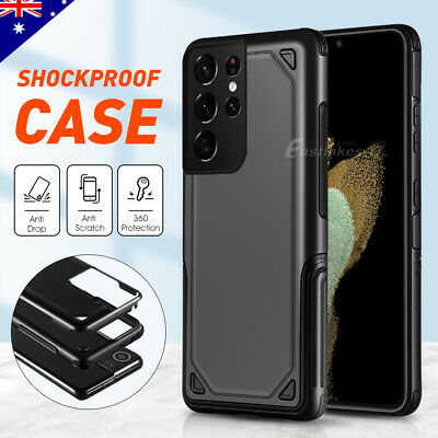For Samsung Galaxy S10 S9 Plus Hybrid Shockproof Case Thin Heavy Duty Cover
