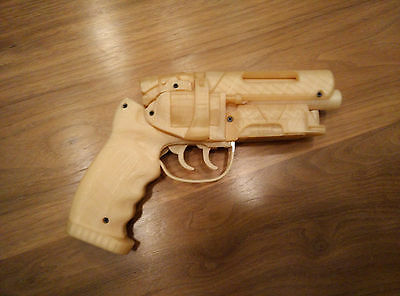 3D printed Deckards Blaster - Blade Runner DIY Kit Movie Prop Kit