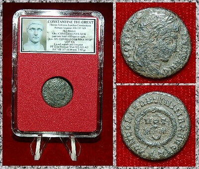 Ancient Roman Empire Coin Of  Constantine The Great  Very Nice Follis!