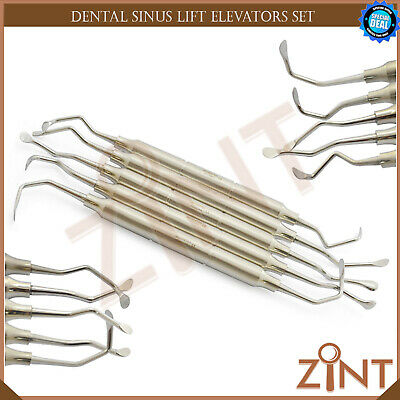 5Pcs Dental Sinus Lift Elevators Surgical Implant Oral Surgery Implantology Labs