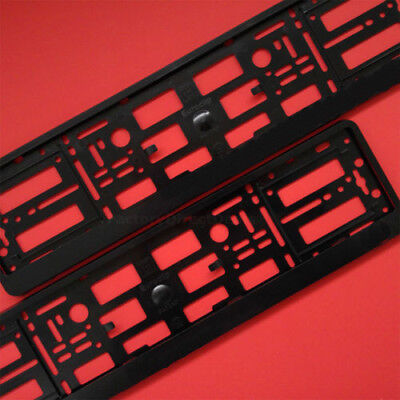 New 2 x Number Plate Surrounds Holder Frame For Seat Leon FR SC