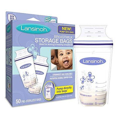 Breastmilk Storage Bags With Convenient Pour Spout for Storing and Freezing