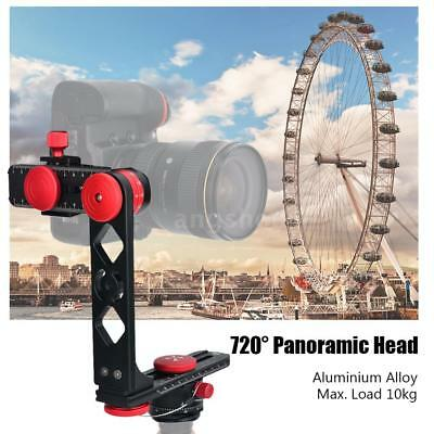 Andoer 720° Panoramic Tripod Head +Arca-Swiss Ball Head QR Plate for DSLR Camera