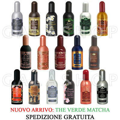 Profumi Tesori D'oriente Unisex Varie Fragranze 100Ml Natural Spray Nuovo