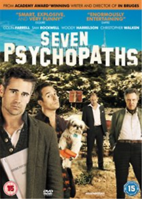 Colin Farrell, Christopher ...-Seven Psychopaths  DVD NUEVO
