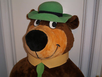 1980 Hanna-Barbara Yogi Bear Plush Toy 5' Tall