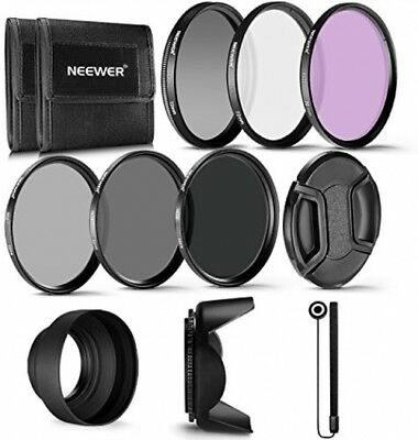 Neewer 72MM Professional UV CPL FLD Lens Filter And ND Neutral Density ND4, Kit