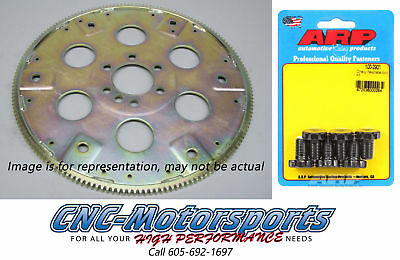 BB Chevy 396 427 SFI-Rated Chromoly Steel Flexplate 168T Int-Balance w/ARP Bolt