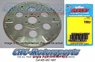 SB Chevy 383 400 SFI-Rated Flexplates 168 Tooth Ext-Balance W/ARP Bolts