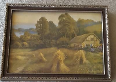 Wonderful Vintage Osborne Co. Print - Framed  - There'll Always Be An England