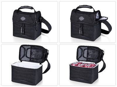 Picnic Time Harley Davidson Insulated Lunch Tote Bag Water Resistant New