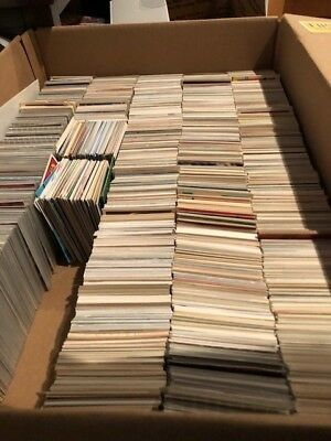Dad's Old Baseball Cards...1,000 CARDS! EASTER EGG LOT- YOU'LL FIND GOOD CARDS!