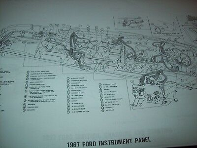 1967 ford galaxie wiring diagram 11x17 32 pages ltd xl 500 custom country  squire