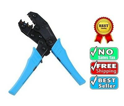 Professional Insulated Wire Crimper Cable Terminals Crimping Hand Tool Ratchet
