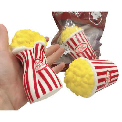 Cute Jumbo Colossal Squishy Popcorn Scented Super Slow Rising Food Toy Fun Gift