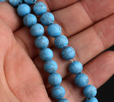Natural Matte Frosted Gemstone Round Loose Beads 4mm 6mm 8mm 10mm 12mm E059