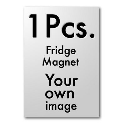 "CUSTOM 1 Pcs. Tool Box / Locker Magnet 2.5"" x 3.5"" Extra Size Your own image"