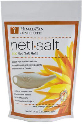 Neti Pot Salt Bag, Himalayan Institute, 1.5 lbs