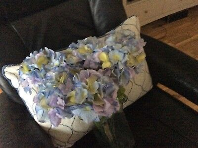 John lewis artificial flowers rosehydrangea bunch new 499 john lewis artificial large light blue hydrangea x8 decorative flowers mightylinksfo