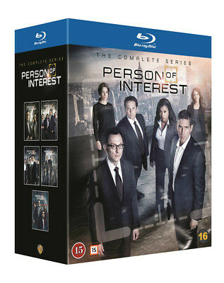 Person of Interest Complete Series 19-Disc Blu Ray
